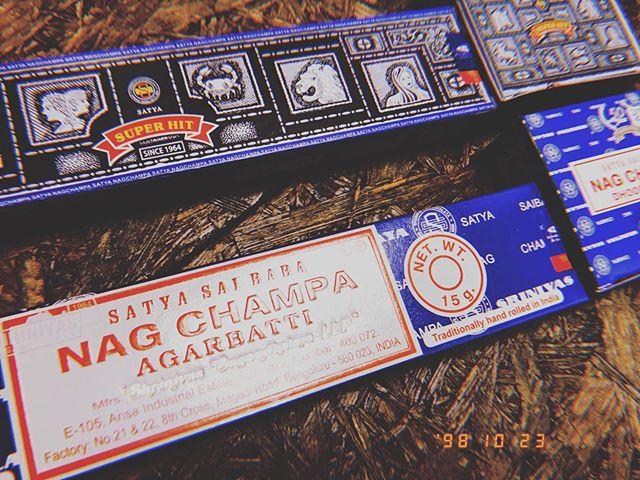 永遠に売れ続ける香り#nagchampa #satya #saibaba #incense #420shibuya #ootd #ootn